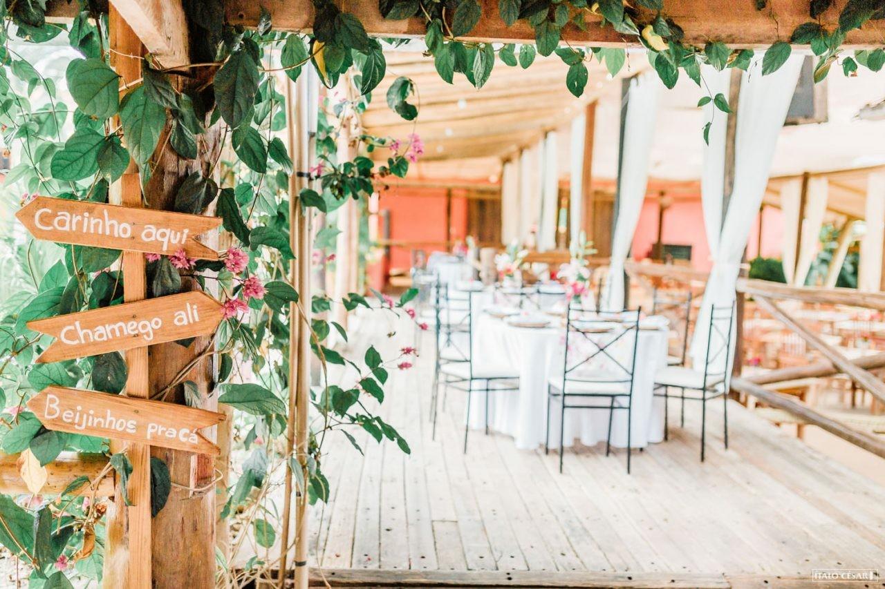decoração miniwedding rustico no campo
