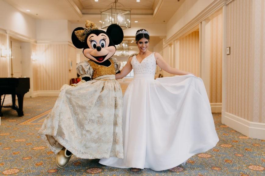 destination wedding na Disney