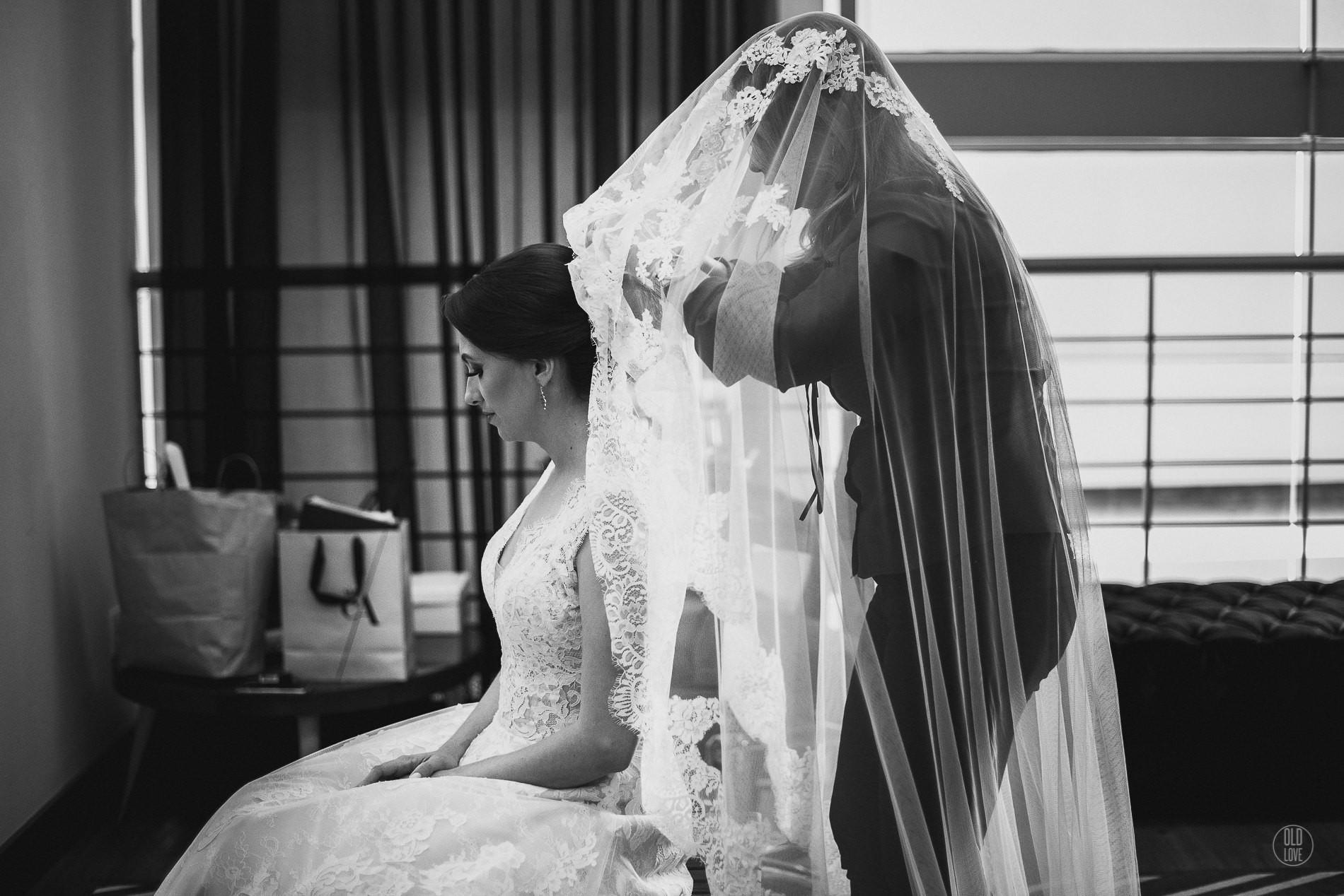 noiva com o véu