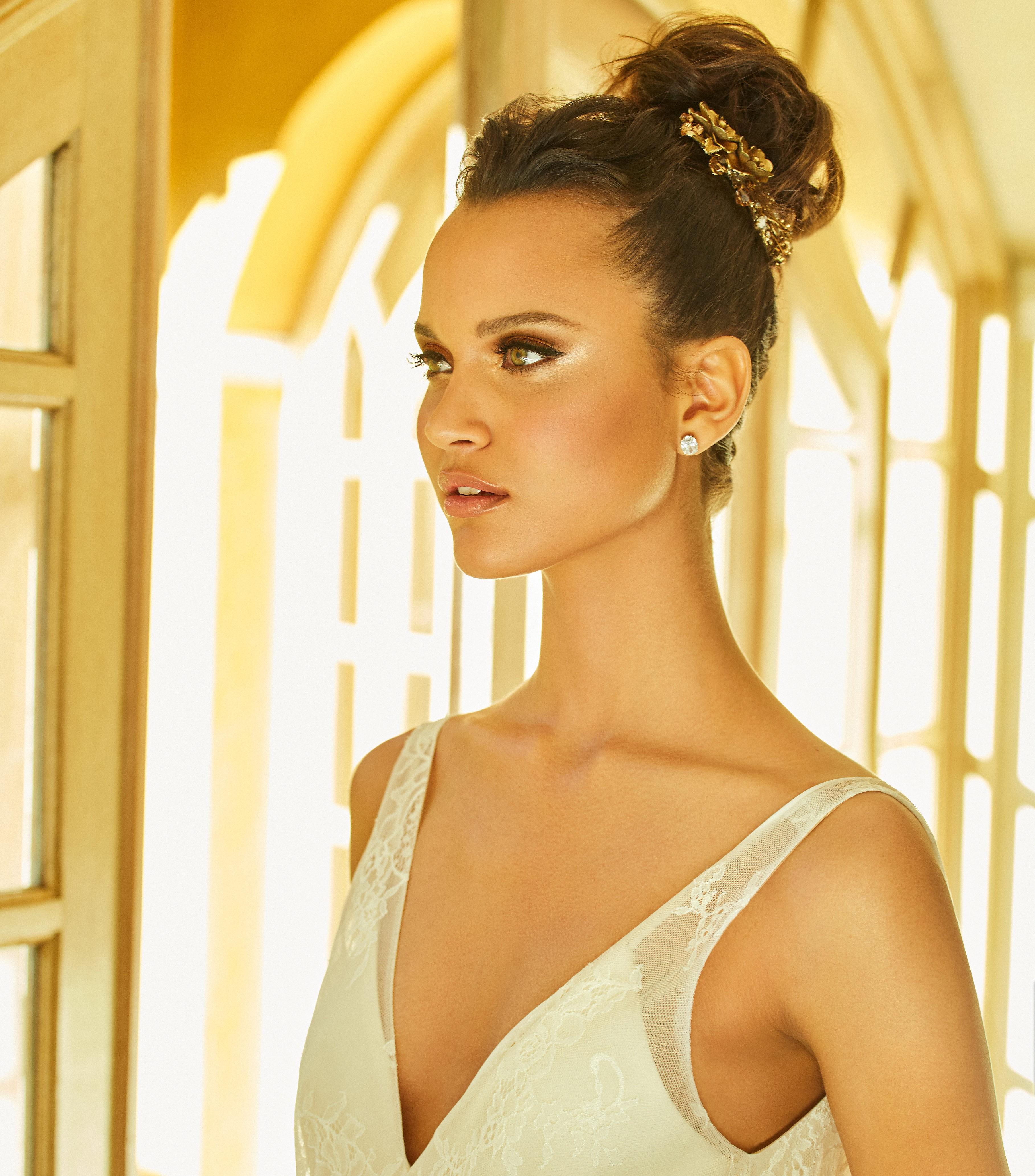 Noiva maquiada pela Make You, um dos fornecedores do Lejour.