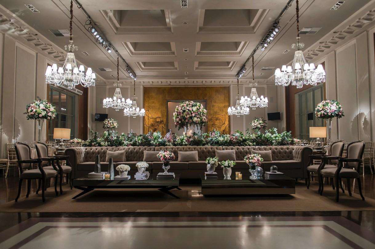 casamento com decoração clássica