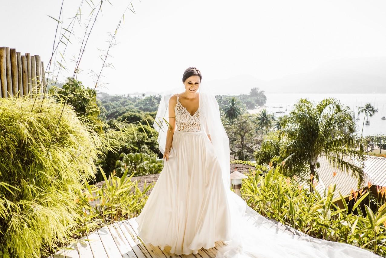 noiva pronta para o casamento