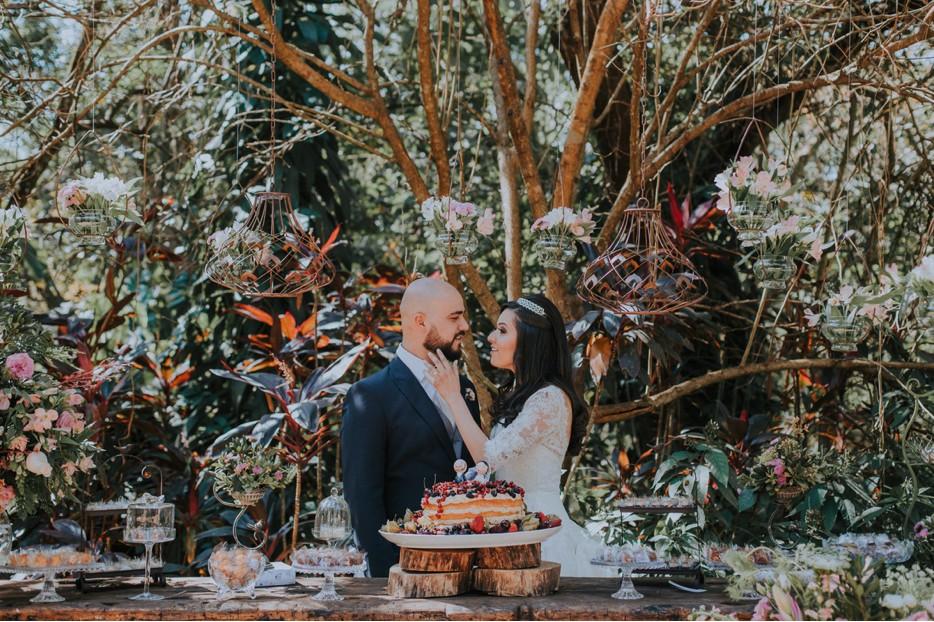 casamento em Inhotim