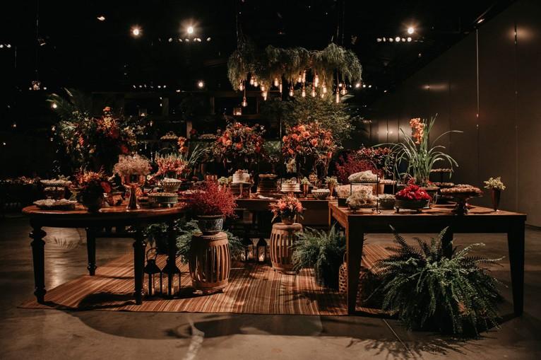 decoração de casamento no Terras de Clara