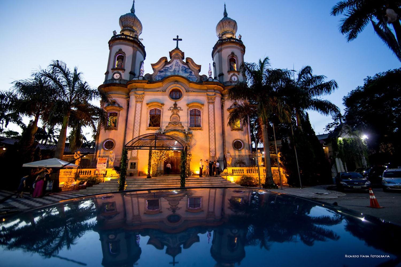 Foto da Igreja Nossa Senhora do Brasil.