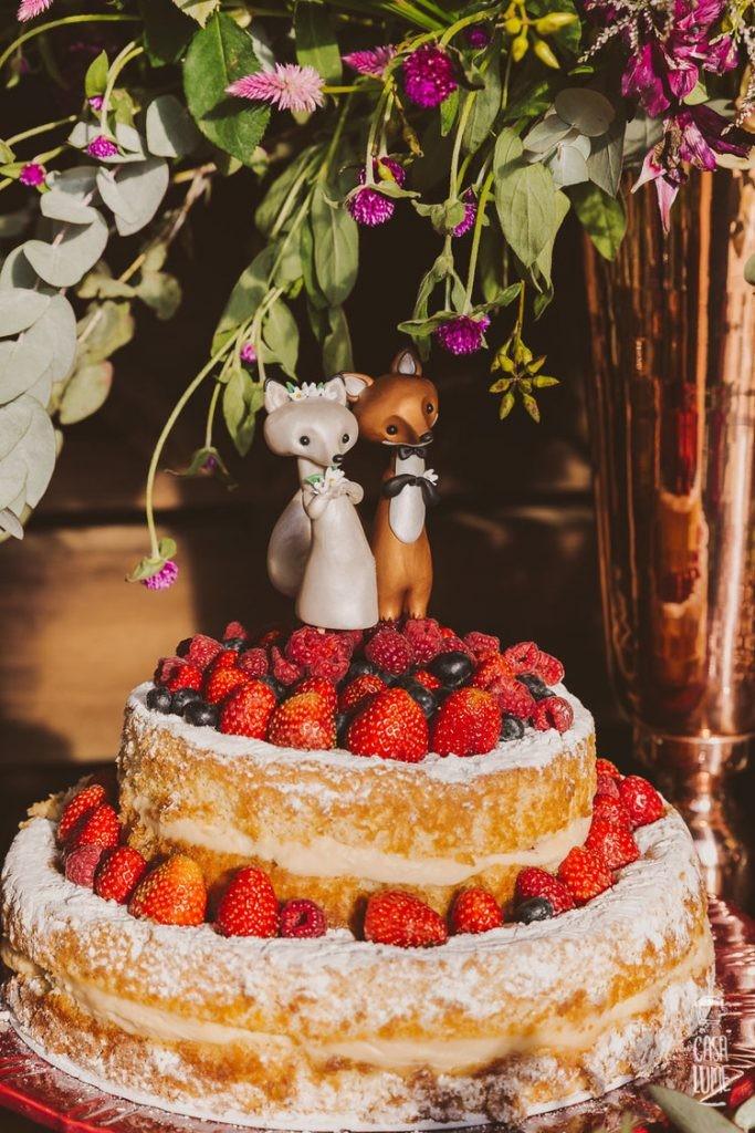 topo de bolo moderno criativo