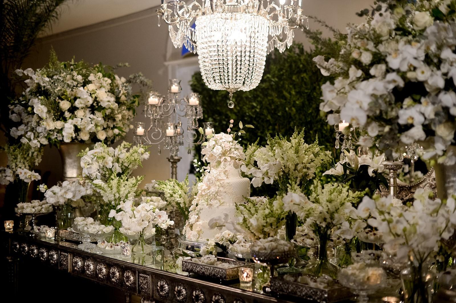 decoração clássica para casamento