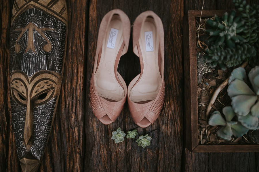 sapatos da noiva