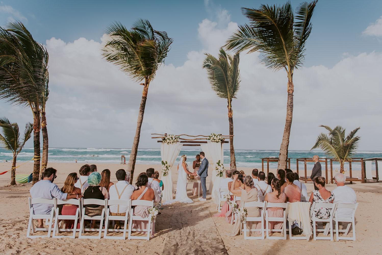casamento na praia em Punta Cana