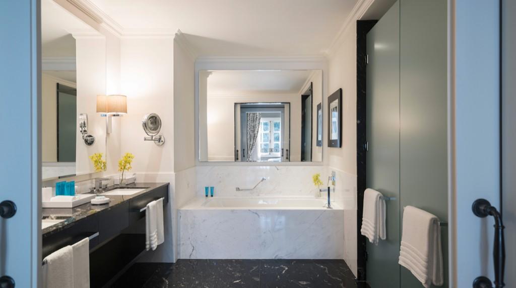 banheiro do Hotel Palacio Tangará