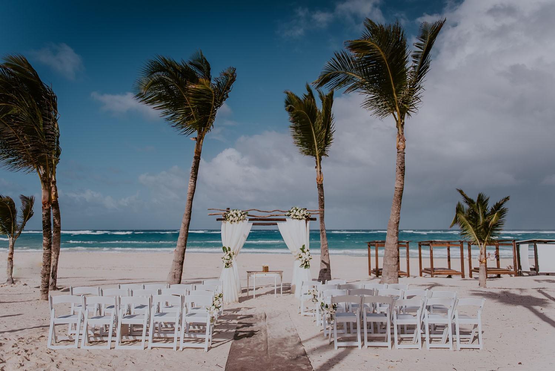 destination wedding na praia em Punta Cana
