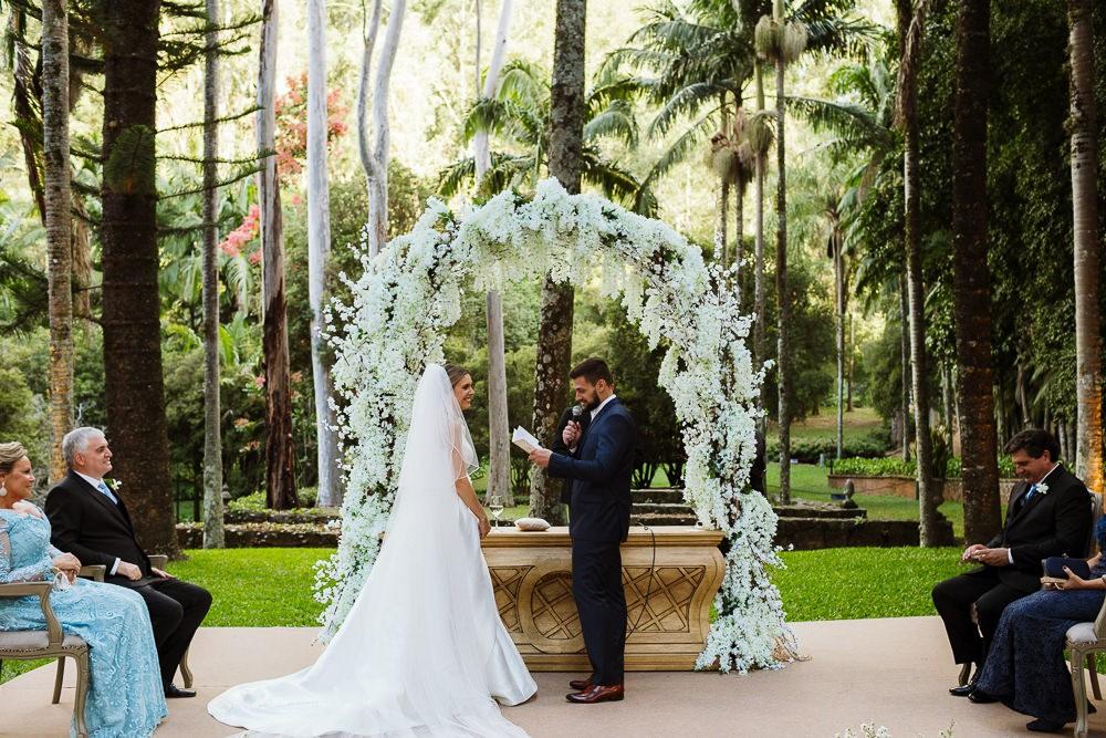 votos dos noivos na cerimônia de casamento