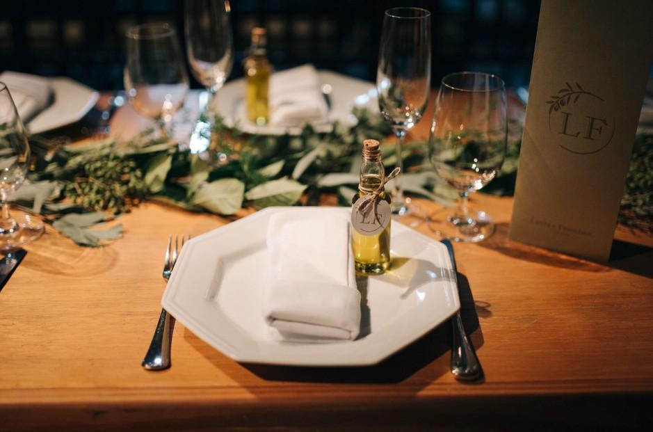 garrafinhas de azeite para lembrancinhas de casamento