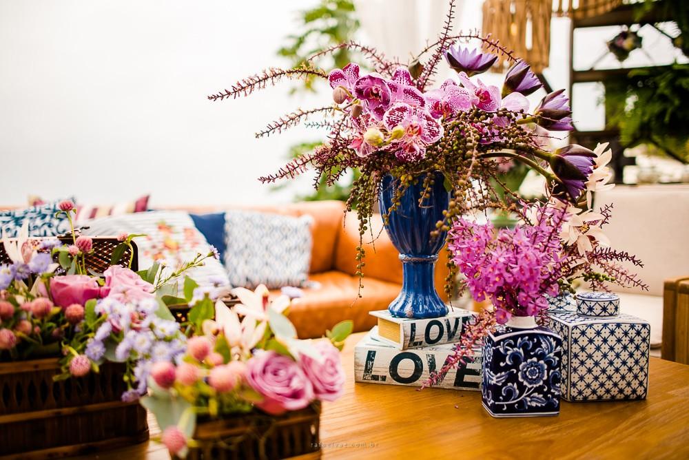 decoração centro de mesa
