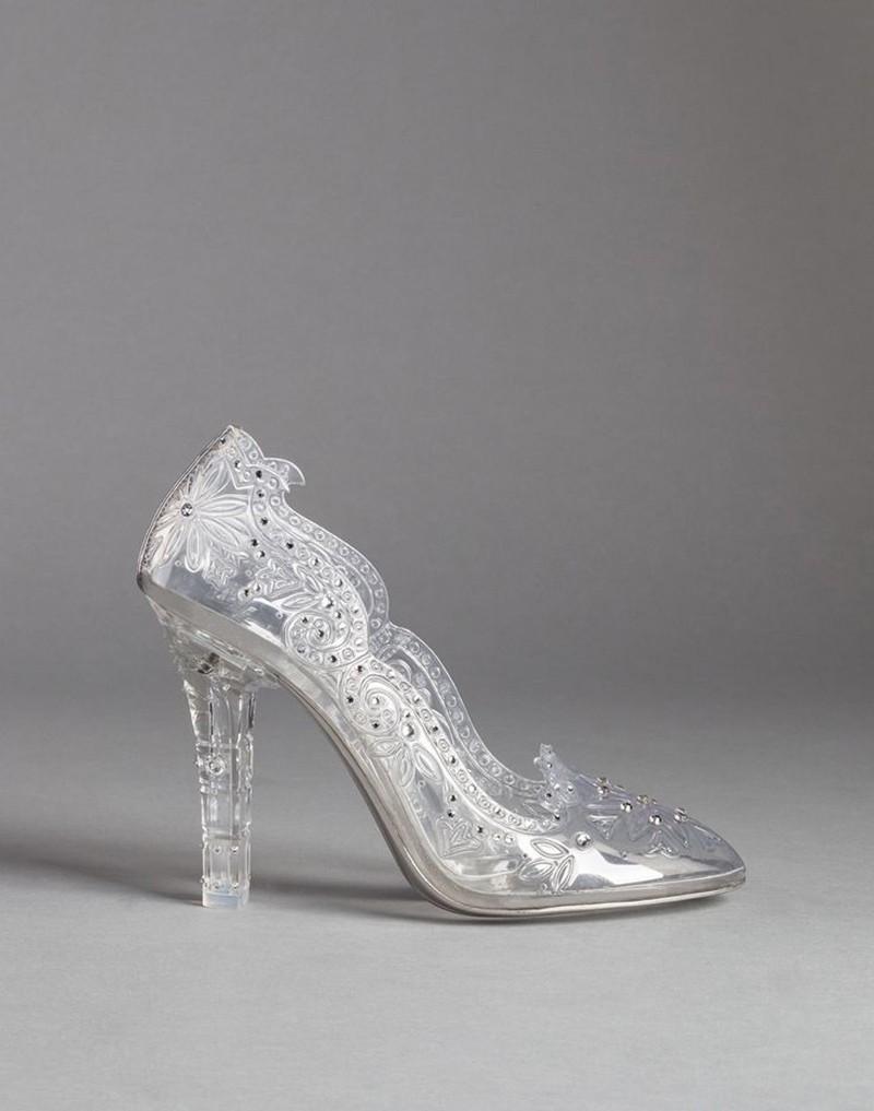 Sapato de noiva usado pela Roberta Carbonari.