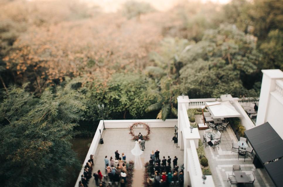 casamento no Palácio Tangará