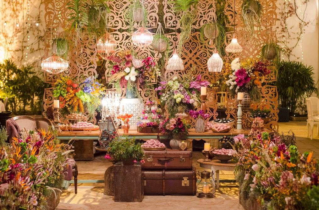 museu decorado para um casamento
