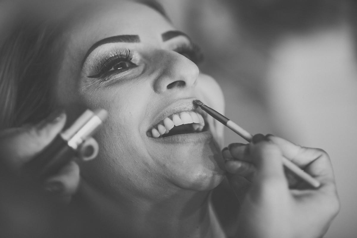 maquiagem no dia da noiva
