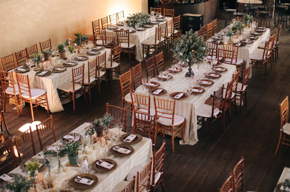 decoração rústica para casamento no campo