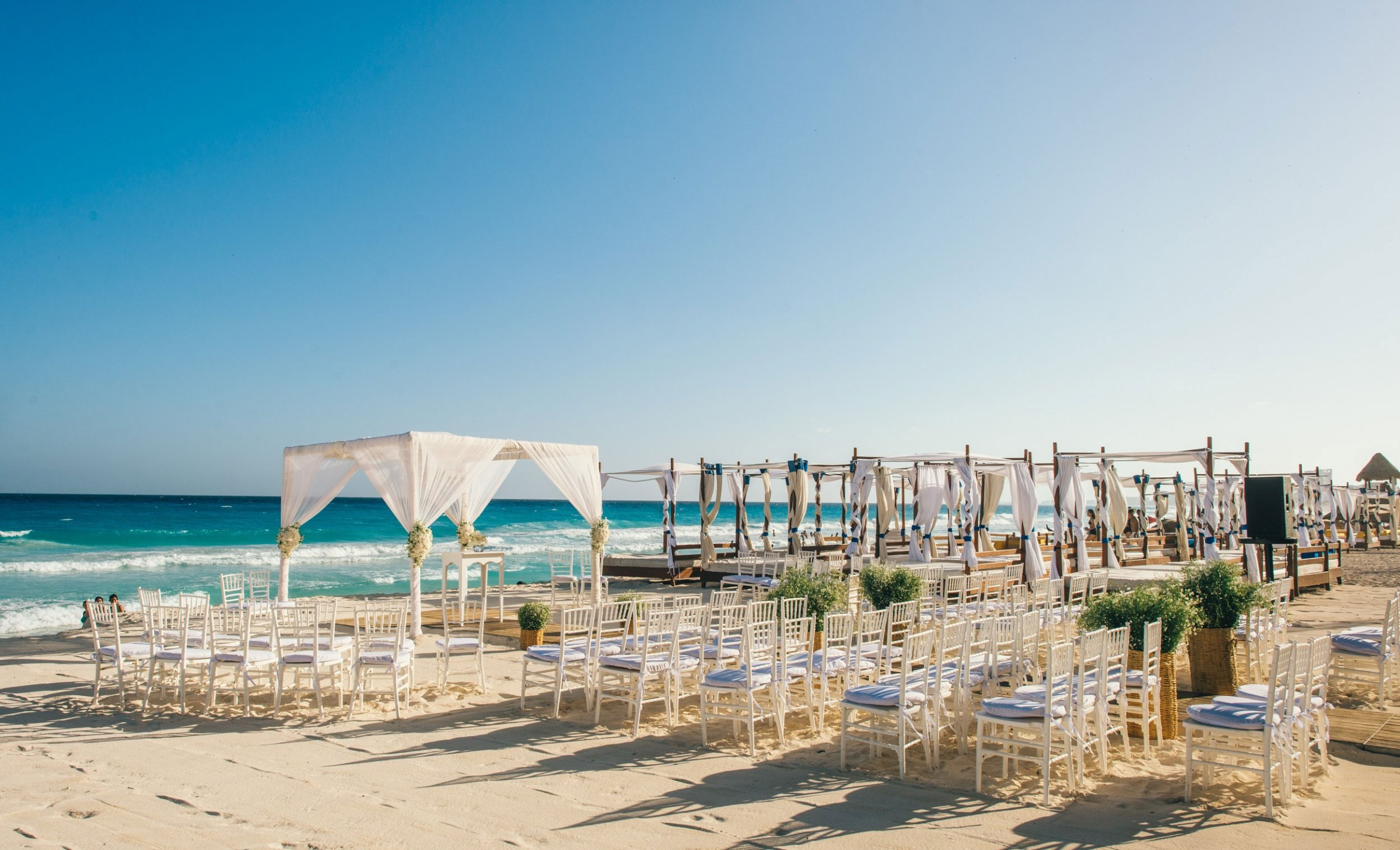 destination wedding em Cancún