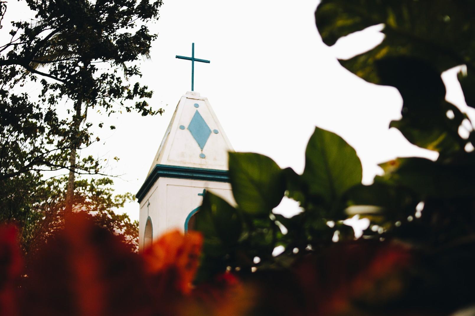 igreja em Ilhabela