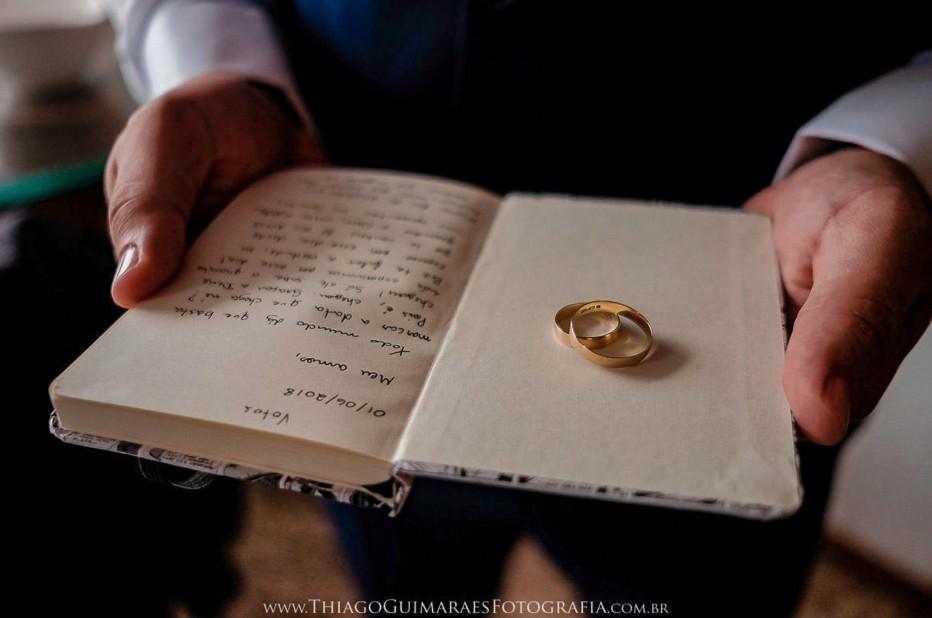 alianças e votos dos noivos