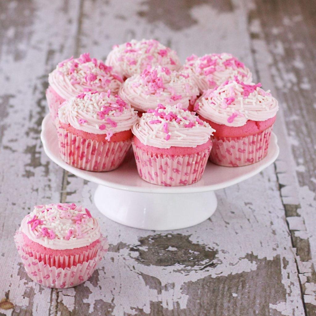 cupcakes para um chá de panela