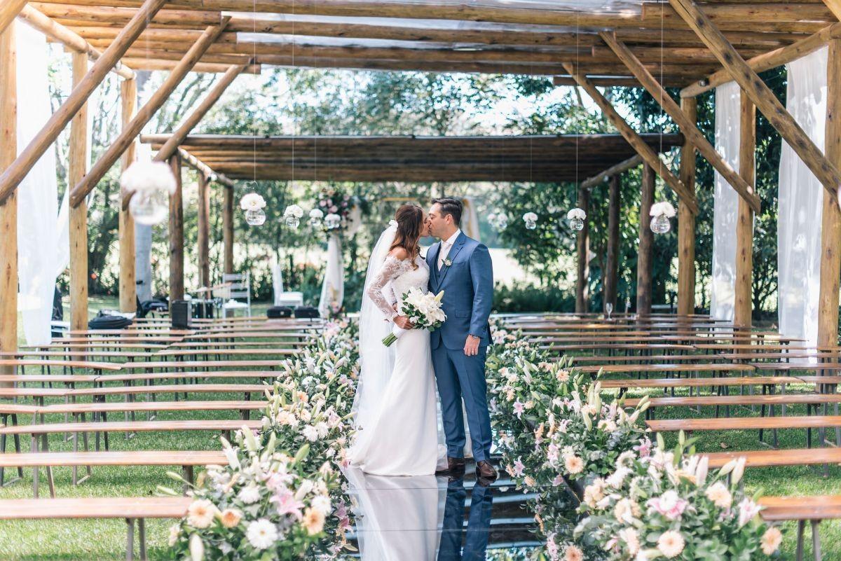 decoração da cerimônia do casamento