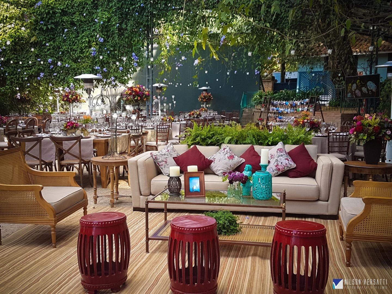 decoração de casamento com lounge