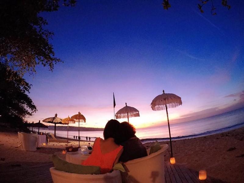 Viagem de lua de mel na Indonésia